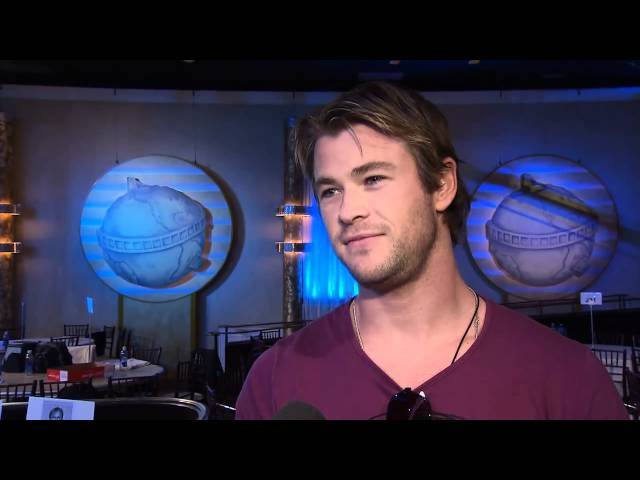 68th Annual Golden Globe Awards: At the rehearsal with Chris Hemsworth
