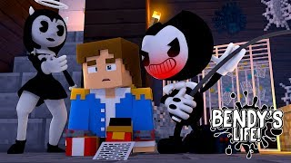 Minecraft BENDY'S LIFE - EVIL BENDY FIGHTS LITTLE DONNY FOR ALICE ANGEL'S LOVE!! Minecraft Roleplay