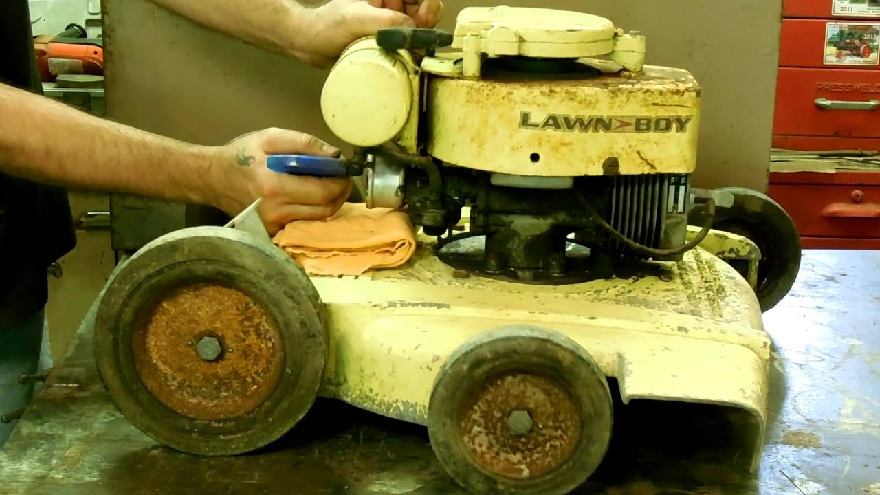 vintage lawn mowers 2 cycle engine  vintage  free engine