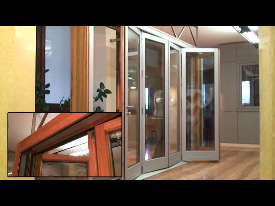 Portafinestra scorrevole a pacchetto esterno youtube - Costruire una finestra in alluminio ...