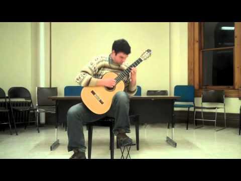 Steve Brew performs Roland Dyens' arrangement of Pixinguinha's Naquele Tempo
