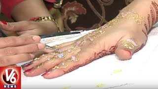 Special Report On New Portrait Mehendi Art In Hyderabad