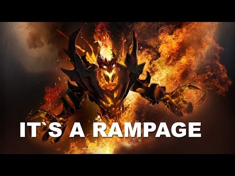 IT'S ARTEEZY RAMPAGE THE CROWD GOES WILD DOTA 2