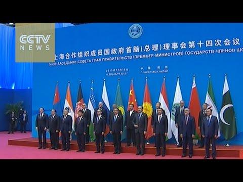 SCO prime ministers discuss economic ties, anti-terror efforts