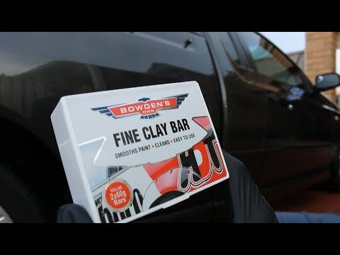 How To Clay Bar Your Car with Bowden's Own Clay