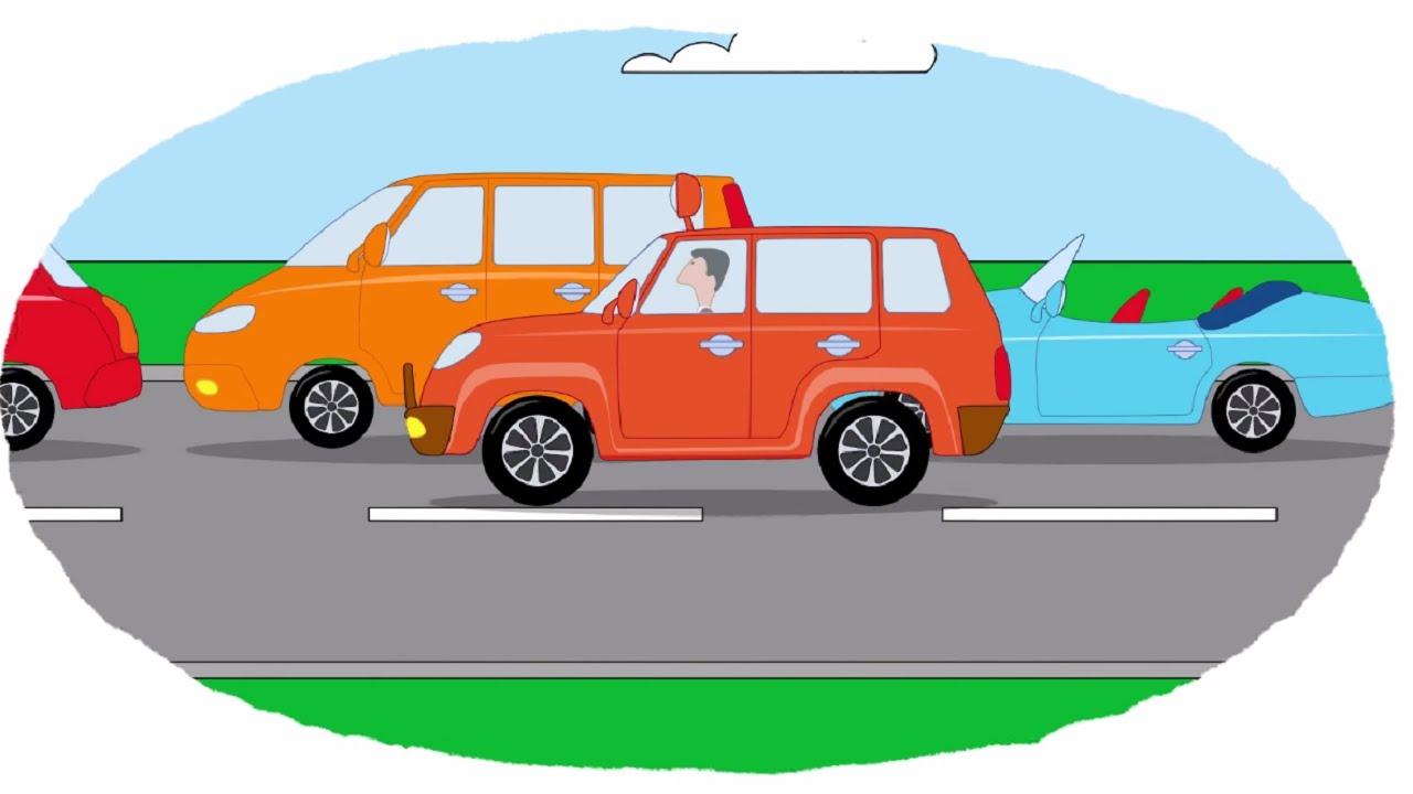 Раскраска для детей грузовики
