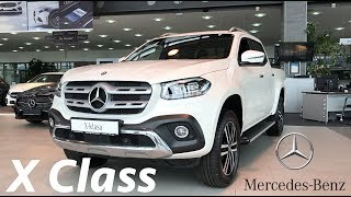 Mercedes-Benz X-Class 250d 4matic 2018 detail review in 4K