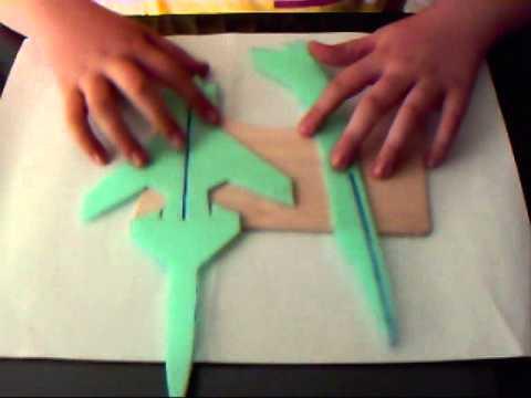 Come costruire un modellino di aereo militare x 29 for Come costruire un cabana