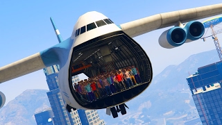 CAN 100+ PEOPLE STAND IN THE PLANE IN GTA 5?