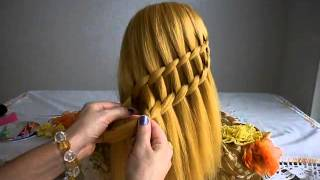 Triple Waterfall Braid  / Trança Cascata Tripla