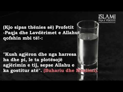 Ngrënia dhe pirja nga harresa gjatë Ramazanit - Imam Ibnu Baz
