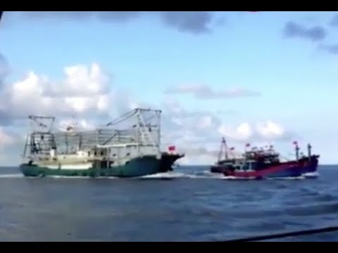 Exposed  Chinese Ship Chases, Rams And Sinks Vietnamese Fishing Boat