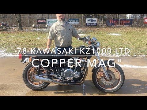 78 Kawasaki KZ1000 LTD COPPER MAG Now Available on Ebay!