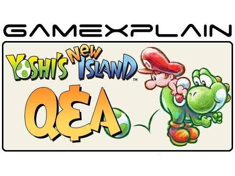 Yoshi's New Island Q&A: Your Questions Answered! (Story, Graphics, Transformations, and more!)