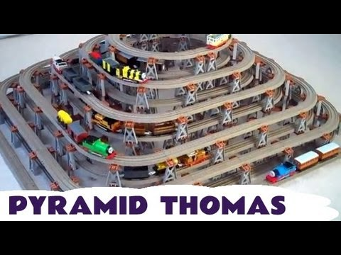 Thomas And Friends Trackmaster PYRAMID 11 Track Kids Toy Train Set Thomas The Tank Engine