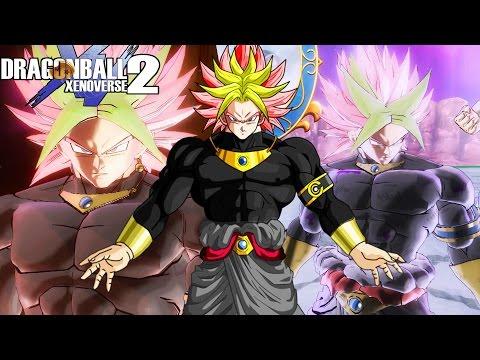 GOKU BLACK AND BROLY FUSE?! Legendary Dark God Karoly Black Unleashed   Dragon Ball Xenoverse 2 Mods