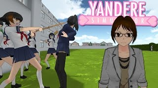 DELINQUENTS & TEACHERS CHASING ME! | Yandere Simulator Myths
