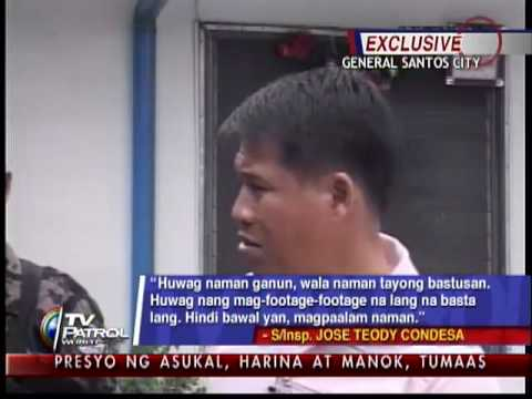Policeman vents ire on ABS-CBN crew over 'VIP treatment' allegations