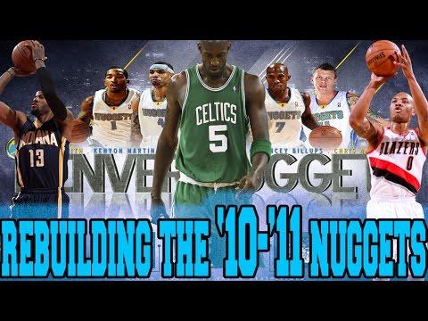 NBA 2K16 MY LEAGUE: REBUILDING THE '10-'11 DENVER NUGGETS