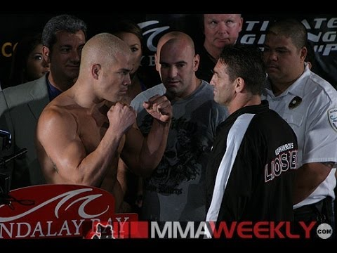 #ThrowbackThursday: Ken Shamrock and Tito Ortiz Explode at UFC 48 Presser Image 1