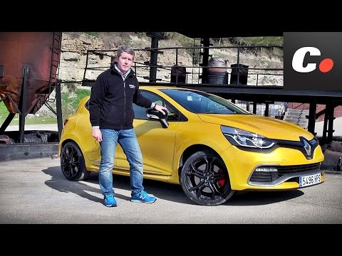 Renault Clio RS en circuito - Prueba / Test / Review Coches.net (2014)