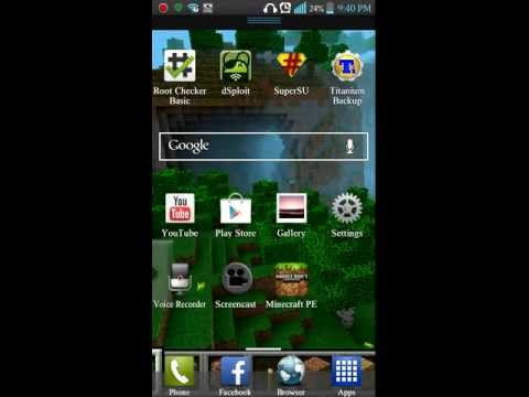 How to root lg optimus l9 without using a computer