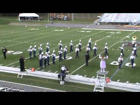 Middletown Area High School Marching Band- TOB 10-20-2012