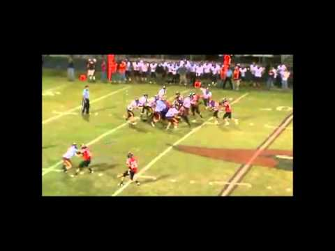 Tony Hall East Peoria High School #44 Football Recruitment Video
