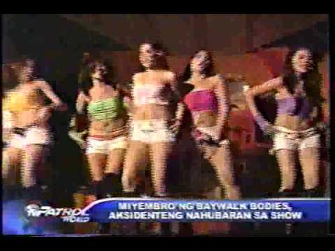 ABS CBN BOOBS SCANDAL OF BAYWALK BODIES
