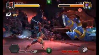 Deadpool vs Thanos (3.4.6) 248 hits!