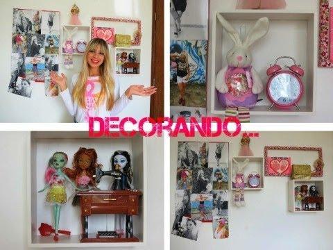 Dicas para decorar seu quarto simples e barato youtube for Cuadros baratos para decorar
