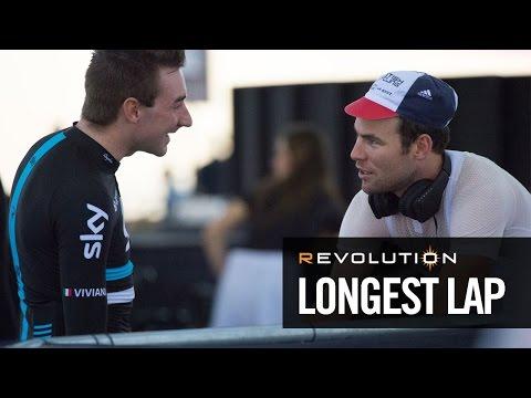 Mark Cavendish takes on the REVOLUTION Longest Lap