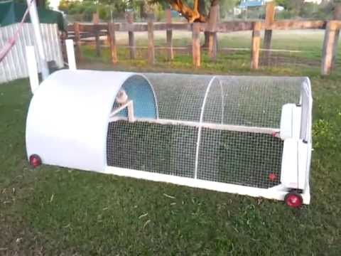 Finished chicken tractor Mk1