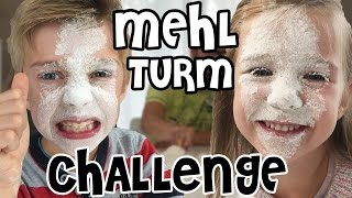 MEHL TURM CHALLENGE 😷  mit Lulu & Leon - Family and Fun