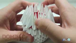 [3d Origami] How To: 3d Origami Cat [part 1] [tutorial]