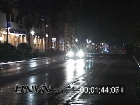 Hurricane Wilma Video 10/23/2005 - Naples Florida - Part 3