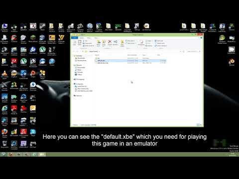 How to convert ISO to XBE for Xbox Emulator [HD] [EN] [DE]