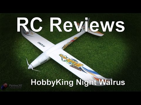 RC Reviews: HobbyKing Night Walrus Plane