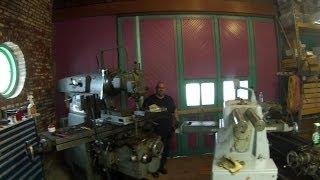 Tour of James Kilroy's Shop