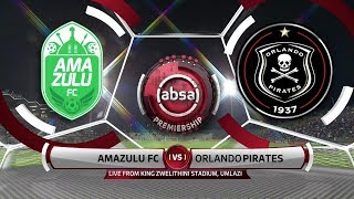 Absa Premiership 2019/20 | Amazulu vs Orlando Pirates | Highlights