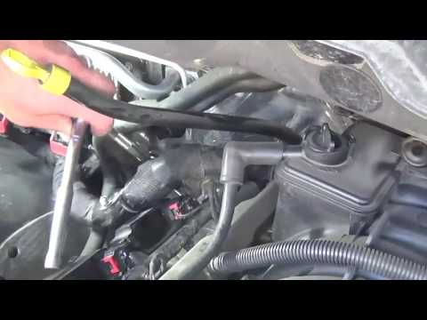 Changing plugs 2013 ram 1500 5.7 hemi