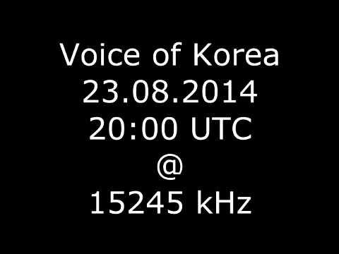 Voice of Korea 23.08.2014 (Radio)