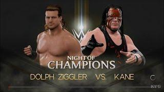 WWE 2K17 - Dolph Ziggler vs Kane | Gameplay (HD) [1080p60FPS]