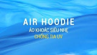 TVC Air Hoodie - Áo Khoác Siêu Nhẹ Chống Tia UV - Lime Orange