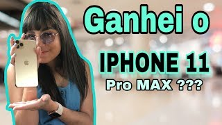 GANHEI IPHONE 11 - unboxing Iphone 11 Pro MAX