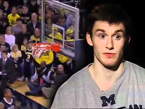 Michigan Basketball Guard Stu Douglass