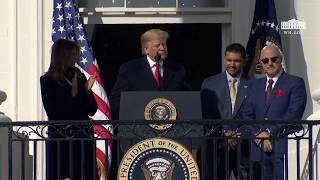 President Trump Welcomes the 2019 World Series Champions: The Washington Nationals