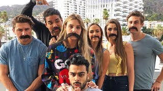Do I Have a Mustache?! | Lele Pons