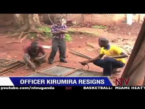 Officer Kirumira resigns from police force turns to welding