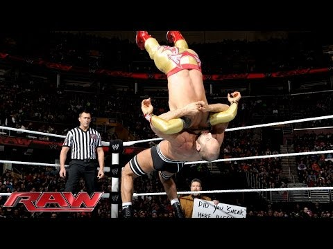 Rey Mysterio & Sin Cara Vs. The Real Americans: Raw, Jan. 27, 2014 video